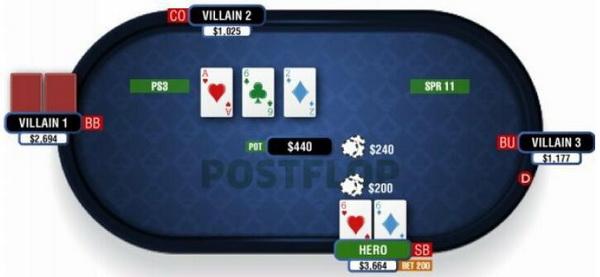 【蜗牛扑克】德州扑克在干燥公共牌面游戏暗三条-2