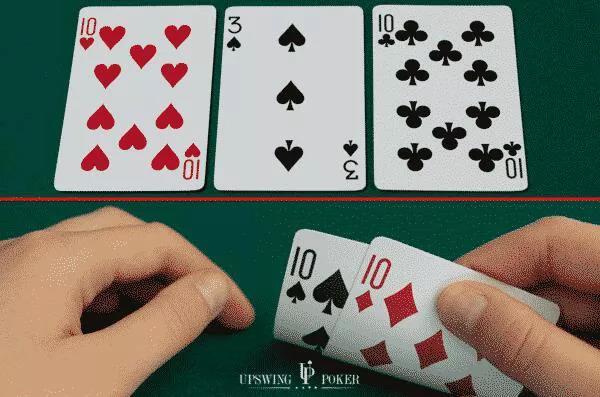 【蜗牛扑克】德州扑克如何用天四条榨取更多价值?