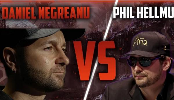 蜗牛扑克:Hellmuth/Negreanu的高额桌对决被推迟