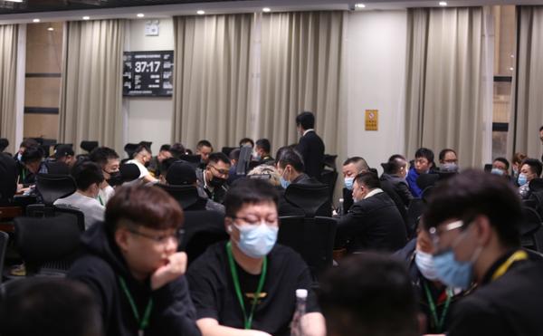 蜗牛扑克:2021YPT黄河杯 | 主赛预赛B组开赛,王军成为全场CL!