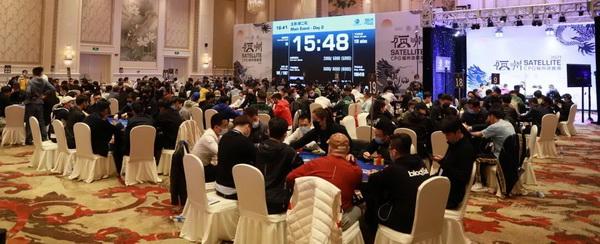 蜗牛扑克:2021CPG福州站|林蔚领衔36人进入第三轮!何畅航遗憾成本届泡沫!