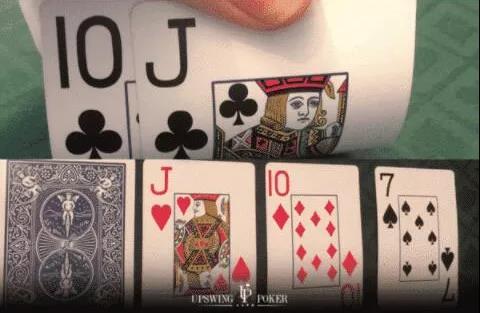 【蜗牛扑克】德州扑克翻牌圈击中两对 怎么玩?