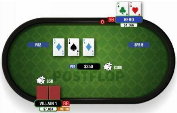 【蜗牛扑克】德州扑克中对-2