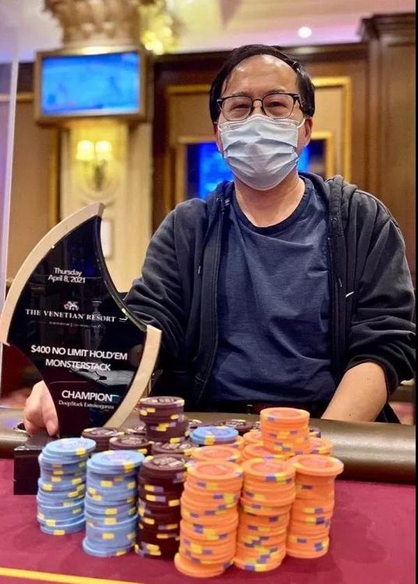 蜗牛扑克:华人Qing Liu成为2021年至今现场比赛巡回赛中最热门的选手