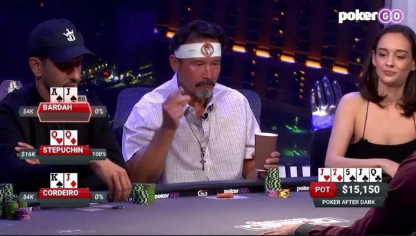 【蜗牛扑克】德州扑克在复杂的三人牌局中,顶三条该怎么打?