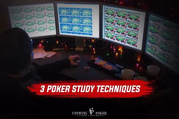【蜗牛扑克】3种有效的德州扑克学习方法