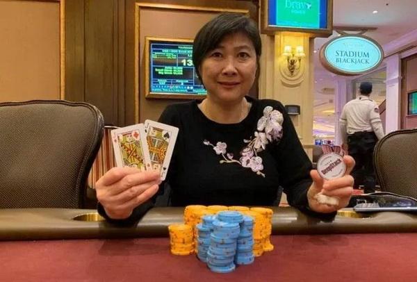 蜗牛扑克:资深扑克玩家Joanne