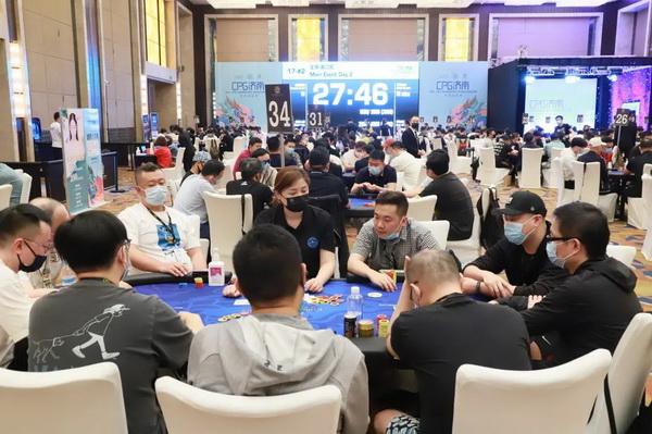 蜗牛扑克:2021CPG济南站 | 泡沫诞生,张彬领衔33人进入下一轮