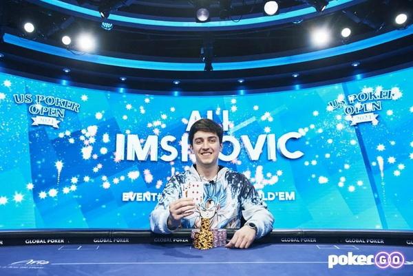 蜗牛扑克:Ali Imsirovic赢得今年的第六个豪客赛冠军