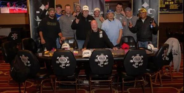 蜗牛扑克:在一场现场比赛中,最后的11名玩家竟然平分了奖金