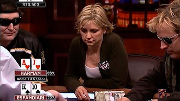 蜗牛扑克:Jennifer Harman呼吁女性玩家在牌桌上要狠,不要太敏感!