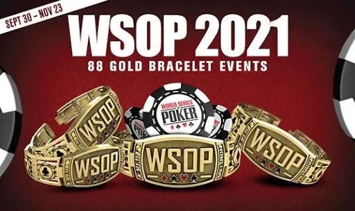【蜗牛扑克】2021 WSOP每日赛事赛程表最终确定,融入GGPoker幸运赛新赛制