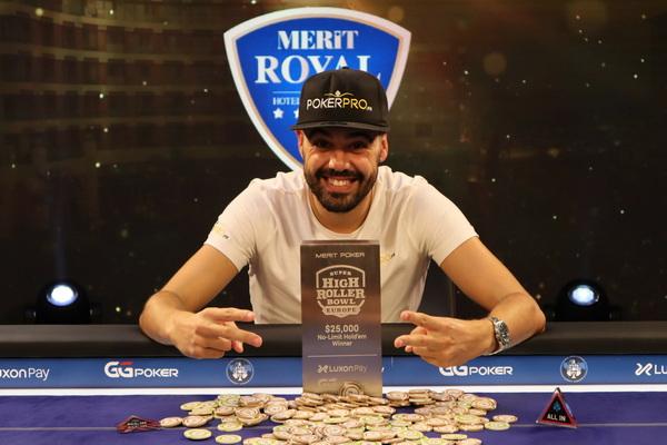 蜗牛扑克:Johan Guilbert赢得超级碗豪客赛第二项赛事