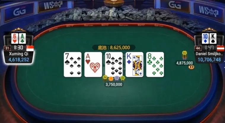【蜗牛扑克】喜贺漆绪明夺取WSOP#8亚军!本周六中国时区赛火热不可错过