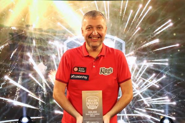 蜗牛扑克:四天两冠!Tony G再次获得短牌锦标赛冠军