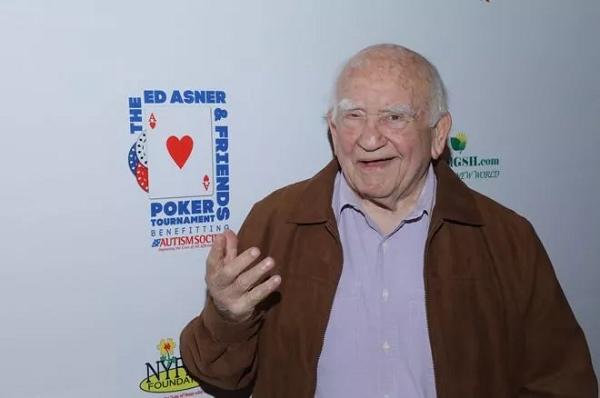 蜗牛扑克:扑克爱好玩家Ed Asner 去世, 享年 91 岁!