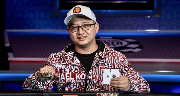 蜗牛扑克:WSOP最新战报!中国选手Zhi Wu勇夺冠军金手链!