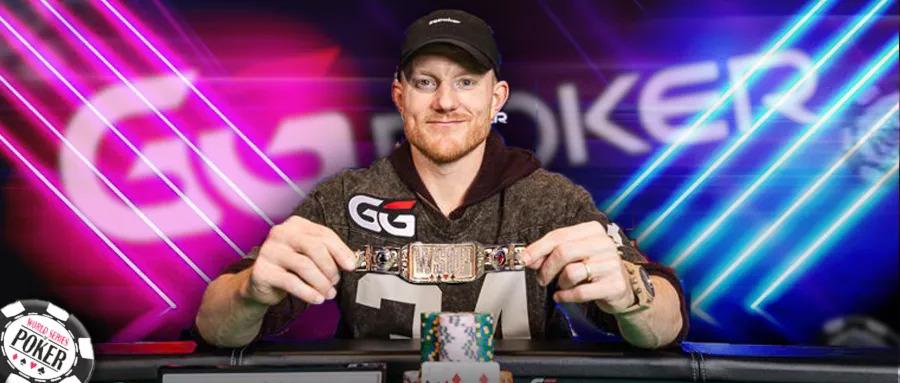【蜗牛扑克】GGPoker好眼力!代言人Jason Koon刚上任立马拿下WSOP处女金手链 :25k单挑冠军