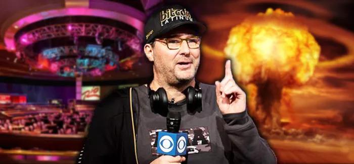 【蜗牛扑克】Phil Hellmuth输不起 扬言要烧毁WSOP扑克圣地!?